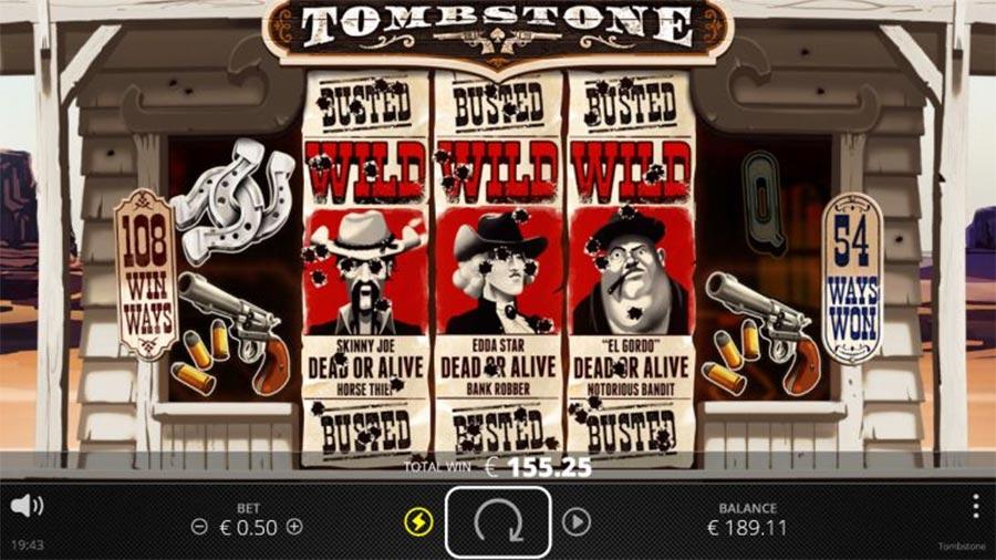 Tombstone รวย